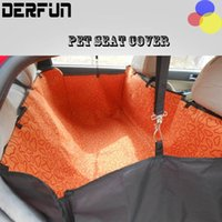 Haute Qualité Pet Dog Cat arrière de voiture Back Seat Cover Transporteur Pet Mat Dog Blanket Couverture Mat Hammock Protector Cushion 4 couleurs