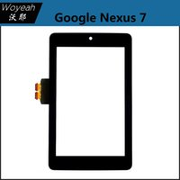Wholesale Asus Nexus Replacement Glass - Asus Google Nexus 7 Tablet 1 1st Generation New Black Touch Screen Panel Digitizer Sensor Glass Repair Replacement Parts