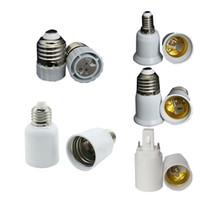 inhaber e11 großhandel-E27 BIS E40 Lampenfassungen Fassungen Konverter Klemmensockel für E11 E12 E14 Schrauben B22 Lichtkeil G9 G24 GU24 MR16