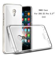 Wholesale Slim Lenovo Phone - Hot IMAK Brand Clear Crystal shell 2 case For Lenovo ZUK Z2 Pro Case slim Transparent phone cover for ZUK Z2 Pro 5.2inch Case Cover