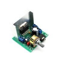 Wholesale Amplifier Board 15w - 1 PCS Free shipping TDA7297 Version B 15W Digital Audio Amplifier Board Dual-Channel AC DC 12V