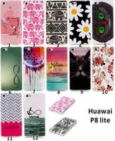 Wholesale Huawei P - Huawei P 8 Lite Soft Tpu Case Cover for Huawei Ascend P8 Lite P8 Mini 5.0
