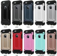 couverture dorée pour iphone achat en gros de-Pour LG K5 Téléphone Cas Golden Armor Hybrid Cas Dur Couverture Arrière antichoc Pour lg K10 K8