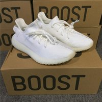 REAL BOOST 350 V2 CP9366 CREAM BORSE SPORTIVE SCARPE NERO ROSSO ZEBRA KANYE WEST ORANGE BELUGA SCARPE RUNNING 350 BOOST V2 ULTRA BOOST 3.0 OREO