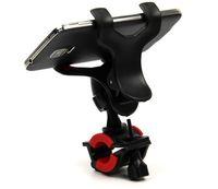 Wholesale Handlebar Brackets - 360 Degree Rotatable Bicycle Phone Holder Handlebar Clip Stand Mount Bracket free shipping