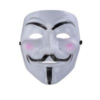 Wholesale Guys Wedding Dresses - Party Masks V for Vendetta Mask Anonymous Guy Fawkes Fancy Dress Adult Costume Accessory Party Cosplay Masks