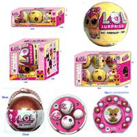 Wholesale Fantasy Models - 2017 LOL Big SURPRISE DOLL Series 3 models Dress Up Toys pet toys for children demolition demolition surprise egg