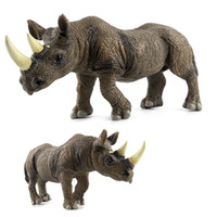 china tierfiguren großhandel-Plastik Tier Dekoration Boutique Sammelfigur Spielzeug Made In China Build Realistische Zoo Modell Waldtier