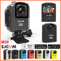 Original SJCAM M20 Wifi Action Camera Gyro Waterproof 30M 16MP 4K 24fps HD Sport Camera capacete Vídeo 1080P 60fps Sj Cam mini Camcorder