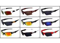 Wholesale Sun Wind Glasses - Wholesale Price Men Outdoor Cycling Wind Goggle Half Frame Fashion Sunglasses Summer Designer Sun Glasses Resin Lenses Free shipping