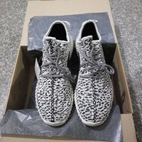 Wholesale Cheap Women Oxfords - Outlets Y boost 350 oxford tan Men Women Shoes Sport Sneaker Moonro 350 Boost Pirate Black Turtle Doves Sneakers Cheap Run Sneakers DropShip
