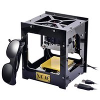 carver machine - NEJE DK mW Mini USB Laser Engraver Printer Carver Automatic DIY Engraving Machine with Protective Glasses E1405