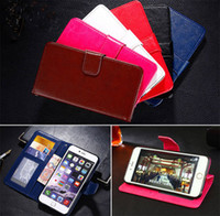Wholesale Grand Photos - retro crazy horse photo frame wallet card holder flip leather case cover for Samsung Galaxy Grand Prime G530 G5308