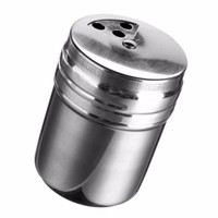 Wholesale 2016 New Arrival Stainless Steel Home Kitchen Bar Spice Jar MSG Household Pepper Pot for Cooking Cook Kitchener