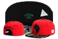 Wholesale Snap Back Hat Hand - 2016 Cheap Cayler & Sons snapbacks Hands Printing snap back caps hiphop hats sport caps For man and woman