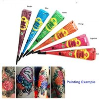 Wholesale compressor airbrush - Wholesale-Hot3pcs airbrush makeup Henna temporary tattoo machine face glowing paint for body paint party aerografo airbrush compressor