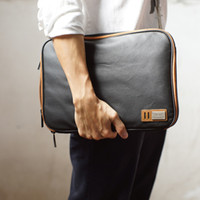 Wholesale Canvas Bags Australia - Fashion design Canvas Laptop Sleeve Case Bag with Handle & Pockets for MacBook Air Pro Retina 13 Inch Dell Inspiron Waterproof