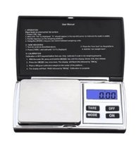 Wholesale Reloading Scales - Mini Good sale Jewelry Scale Weigh High Precision Digital Pocket Scale Reloading Jewelry and Gems Weigh Scale GL-DS8