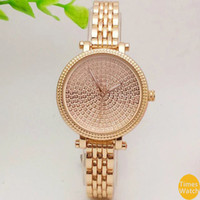 Wholesale Ladies Watches Small Dial - 20%off Famous M brand 2016 Famous Brand Watches Women Casual Designer Fashion small dial gold wristwatches golden stainless steel lady watch