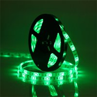 RGBW Led Strips Lights DC 12V 5M 300LEDs RGB + Blanc chaud / Pure White Led Rope Tape Strips Waterproof IP65