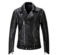 Wholesale City Motorcycles - Free shipping Wholesale 2017 new men leather motorcycle leather men male fashion city