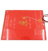 Wholesale Reprap Resistor - Freeshipping 300*300*2.0 MK2A RepRap RAMPS 1.4 PCB Heatbed MK2A +LED+Resistor+cable +100k ohm Thermistors PCB heat bed