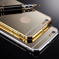 Gold Glossy Luxury Cases cover для iPhone 6 4.7