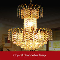 Luxe Tranditional Crystal Pendant Lamp K9 cristal Curtain design Rain Drop Chandelier Light Escalier Décoration