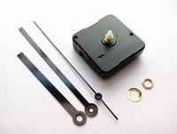 Wholesale Quartz Clock Motors - 100PCS Sweep Mechanism Sweep Quartz Clock Motor with Black Hands