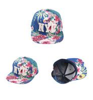 snapbacks girls shipping оптовых-2016 мужчины и женщины Спорт шляпа хип-хоп шапки девушки солнце шляпы открытый Snapbacks печать цветы 3 шт. / лот Drop Shipping
