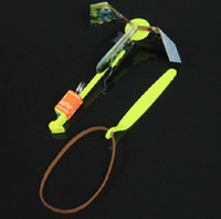Wholesale Wholesale Toys For Chrismas - Hot Creative Children Toys Amazing LED Flying Toys Arrow Helicopter for Sports Funny Slingshot Education Birthday Party Chrismas TY1970