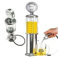 Wholesale Wine Gas - 900 ml Antique Gas Style Pump Liquor Dispenser With Tarnish Resistant For Liquor Beverage Bar Tools