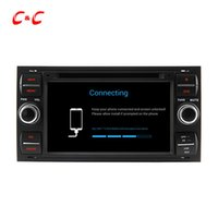 HD 1024 * 600 Quad Core Android 5.1.1 Car DVD Play for ford FOCUS con navegación GPS Radio Wifi Espejo enlace DVR