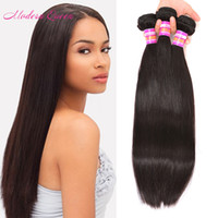 Bulk Brazilian Strappy Straight Hair Weave 3pcs Brazilian Silky Straight Extensões de cabelo humano Modern Queen Products Colored Brazilian Hair