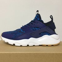 Wholesale High Ankle Sneakers For Men - 2016 New Air Huarache 6 Running Shoes Huraches Breathe Trainers Ultra for Men High Ankle Outdoors Shoes Huaraches 9 Sneakers Size US 5-11