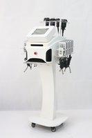 Wholesale Ultrasonic Body Shaping - 40K cavitation machine Vacuum Ultrasonic Liposuction multipolar rf diode lipolaser body shape weight loss machine