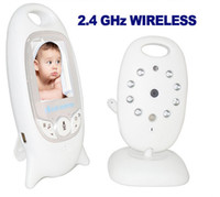 Wholesale inch Color Video G wireless baby monitor with Lullabies camera Way Talk Nigh Vision IR LED Temperature Monitoring