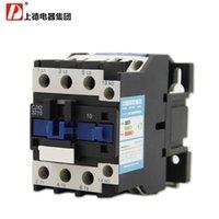 Wholesale 36v Ac Motors - Wholesale-Motor Starter Relay CJX2-3210 contactor AC 24V 36V 48V 110V 220V 380V 32A Voltage optional LC1-D