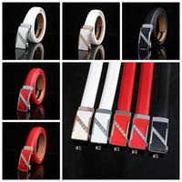 ingrosso z cinghie-Cintura donna a forma di Z con fibbia automatica in metallo PU cinturino in vita da donna in metallo per jeans LJJO3530