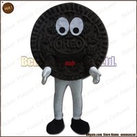 Wholesale Adult Cake Costume - Biscuits mascot costume EMS free shipping, cheap high quality carnival party Fancy plush walking cake mascot adult size.