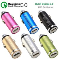 Qualcomm Quick Charge 3.0 carregadores de carro USB rápido adaptador de carga 5V 9V 12V 3A 2A 1.5A para iphone samsung Smart Phones GPS