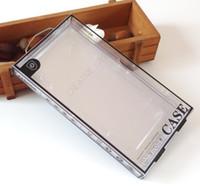 embalagem de blister de telefone celular venda por atacado-Caixa de bolha de empacotamento varejo preta do pacote do indicador da janela do PVC do luxo colorido preto para o caso do telemóvel do iphone 7 7plus