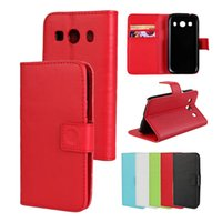 Wholesale Wholesale Phone Galaxy Ace - For Samssung Ace 4 G357 PU Leather Wallet Phone Case With ID Card Slots Filp Stand for Galaxy Lte Ace4