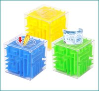 Grossiste-Magic Cube Maze Jouets Ancien Adulte Early Childhood Educational Intelligence Labyrinthe Rolling Ball Toys Jeu Puzzle