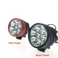 Wholesale Bike C - [2 Batteries included]9800 Lumen 7 *C-XM-L T6 LED Bike LED Bicycle Lamp Light HeadLight Waterproof Aluminum alloy light