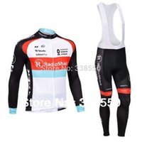 Full Anti Bacterial Men cycling jersey  Long Sleeve cycling clothing men set +Bib Bike Pants Breathable Quick Dry Size S-3XL