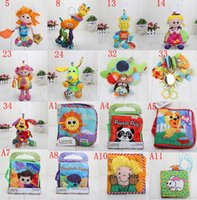 Wholesale Lamaze Toys 5pcs - 5pcs Lamaze Crib toys with rattle teether infant early development plush toy Lamaze Toy