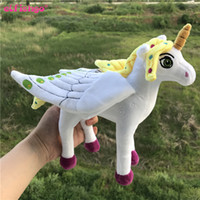Wholesale Horse Plush Doll - Christmas Gifts Fashion Unicorn Plush Toys Cute Horse Stuffed Doll Children Kids Girls Best Gifts 20cm