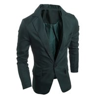 Wholesale Cheap Blue Fitted Blazer Men - 2016 Regular Mens Jacket Coat High Quality New Arrival Unique China Factory Men Fitted Blazers Men Jackets and Coats Cheap