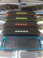 usb ses çubuğu toptan satış-Bluetooth Mini Hoparlör Stereo Kablosuz Taşınabilir Hoparlörler Hifi Ses Kutusu Bar Megabass Handsfree Telefon TF USB MP3 Çalar FM Radyo SC-208